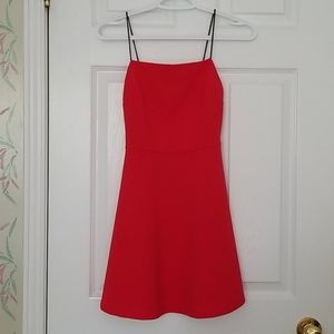 Urban Heritage Red Skater Dress - Sz XS